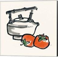 Tea and Persimmons Fine-Art Print