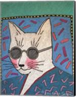 Humanimals - Archie the Cat Fine-Art Print