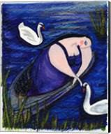 Big Diva And Swans Fine-Art Print