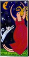 Big Diva Moonlight Goddess Dancing Fine-Art Print