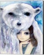 Big Eyed Girl Solitude Fine-Art Print