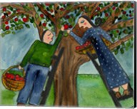 Love Under The Apple Tree Big Diva Fine-Art Print