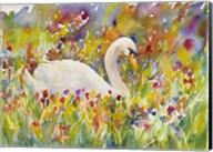 Colorful Swan Fine-Art Print