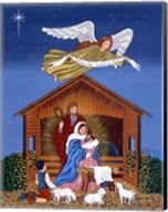 Primitive Nativity Fine-Art Print