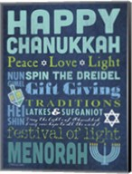 Happy Chanukkah Fine-Art Print