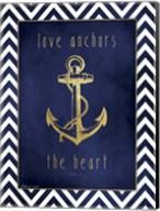 Anchor & Gold Fine-Art Print