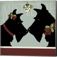 Scottie Mistletoe Fine-Art Print