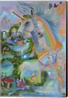 Rainbow Unicorns Fine-Art Print