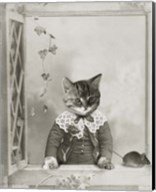 Cat And Mouse Fine-Art Print