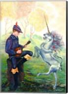 Dancing Unicorn Fine-Art Print