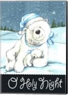 Polar Bear Holy Night Fine-Art Print