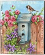 Sparrow House Rules Fine-Art Print