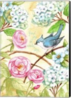 Rose And Bird Joy Each Day 2 Fine-Art Print