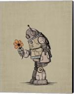 Robot Flower Fine-Art Print