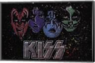 KISS - Face Off Multi Color Fine-Art Print
