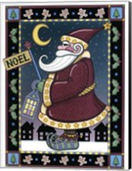 Apple Santa Noel Fine-Art Print