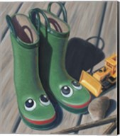 Apple Frog Boots Fine-Art Print