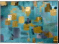 Squared Blue Fine-Art Print