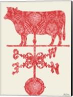 Weather Vane Cow Fine-Art Print