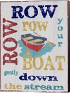 Row Row Fine-Art Print