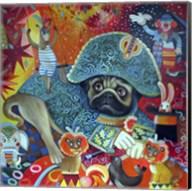 Circus Pug Fine-Art Print