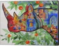 Rhino In Marrakech Fine-Art Print