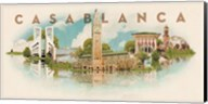 Vintage Casablanca, Morocco, Africa Fine-Art Print