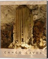 Vintage Cango Caves, Oudtshoorn, South Africa, Africa Fine-Art Print
