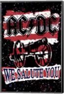 AC/DC - We Salute You Stripes Fine-Art Print