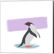 Minimalist Penguin, Girls Part I Fine-Art Print