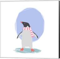 Minimalist Penguin, Girls Part II Fine-Art Print