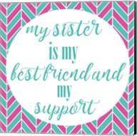 Sister Besties Fine-Art Print