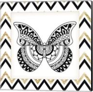 Zig Zag Butterfly 1 Fine-Art Print