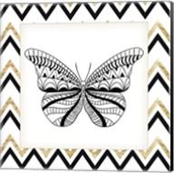 Zig Zag Butterfly 2 Fine-Art Print