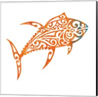 Tribal Koi 2 Fine-Art Print