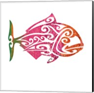 Tribal Koi 4 Fine-Art Print