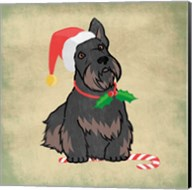Merry Scottie Fine-Art Print