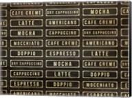 Coffee Drink Wall Fine-Art Print