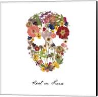 Flowerskull 2 Fine-Art Print