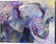 Blue Elephant Fine-Art Print