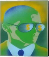 Dollar Bills Green Fine-Art Print