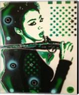 Asia Green Fine-Art Print