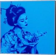 Blue Geisha Fine-Art Print