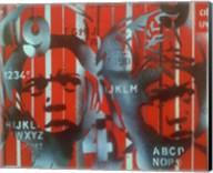 Boxer V Alphabet Fine-Art Print