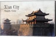 Vintage Xi'an City, China, Asia Fine-Art Print