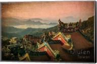 Vintage Jiufen, Taiwan, Asia Fine-Art Print