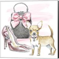 Glamour Pups I Fine-Art Print