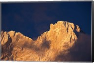 Chomolonzo Summit at Sunrise, Tibet Fine-Art Print