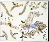 Musical Birds Fine-Art Print