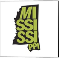 Mississippi Letters Fine-Art Print
